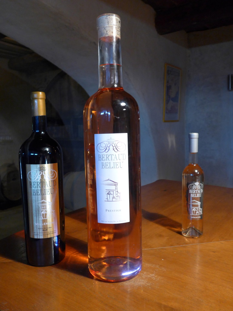 Wines of Bertaud Belieu