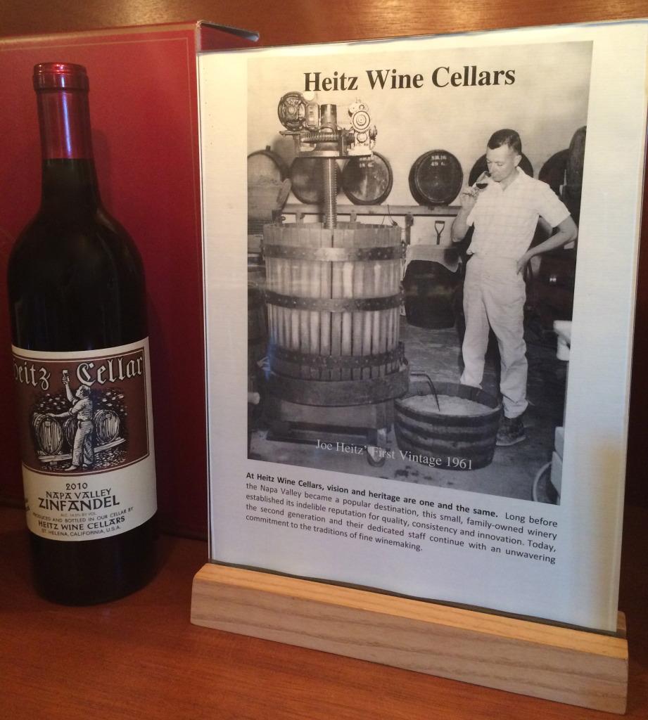 Heitz Wine Cellars Zinfandel