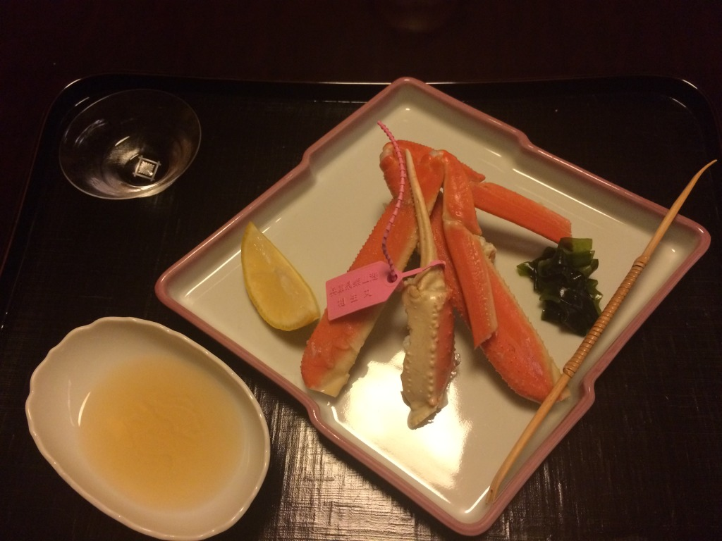 Raw snow crab