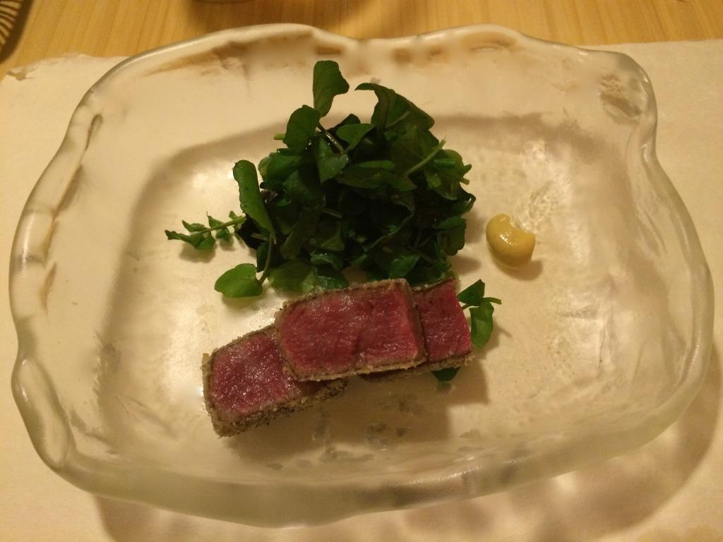 Japanese beef at Kanda