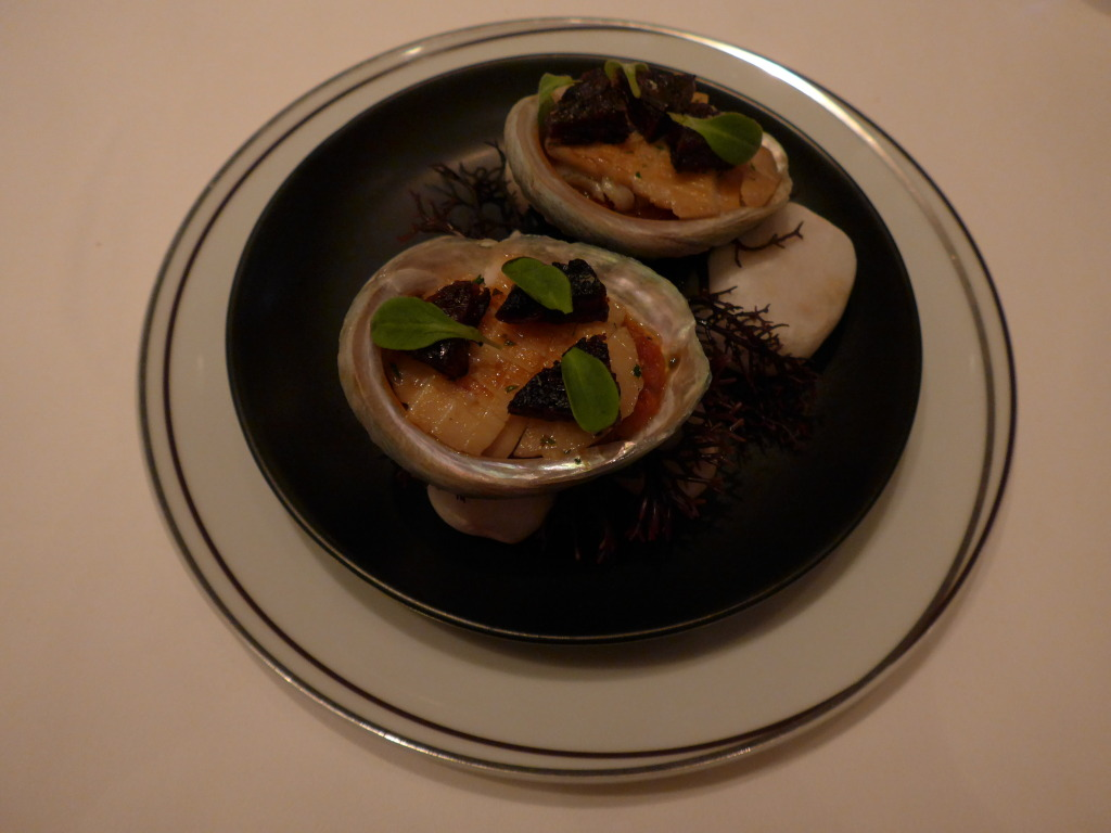 Abalone starter at Amber