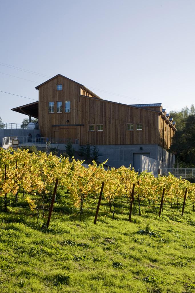 Joseph Phelps Firestone winery in Sonoma