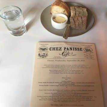 Chez Panisse: Berkeley farm to table mothered by chef Alice Waters