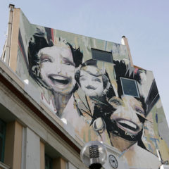 Greek street art in Athens is rising in time of austerity